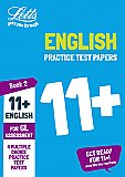 Letts - 11+ English Practice Test Papers - Multiple-Choice: For The Gl Assessment Tests: Book 2