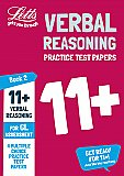 Letts - 11+ Verbal Reasoning Practice Test Papers - Multiple-Choice: For The Gl Assessment Tests: Book 2