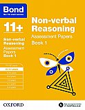 Bond 11+ Assessment Papers Non-verbal Reasoning 10-11+ Years Book 1
