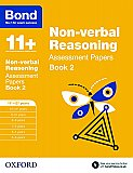 Bond 11+ Assessment Papers Non-verbal Reasoning 11+-12+ Years Book 2