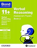 Bond 11+ Assessment Papers Verbal Reasoning 10-11+ Years Book 2