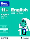 Bond 11+ 10 Minute Tests English 9-10 Years