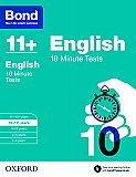 Bond 11+ 10 Minute Tests English 10-11+ Years