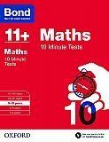 Bond 11+ 10 Minute Tests Maths 9-10 Years