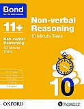 Bond 11+ 10 Minute Tests Non-verbal Reasoning 7-8 Years