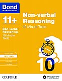 Bond 11+ 10 Minute Tests Non-verbal Reasoning 10-11+ Years