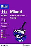 Bond 11+ Standard Test Papers Mixed Pack 1