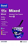 Bond 11+ Standard Test Papers Mixed Pack 2