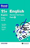 Bond 11+ English Standard Test Papers Pack 2