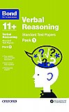 Bond 11+ Verbal Reasoning Standard Test Papers Pack 1