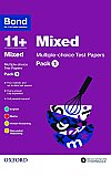 Bond 11+ Multi Test Papers Mixed Pack 1