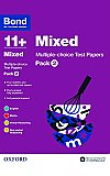Bond 11+ Multi Test Papers Mixed Pack 2