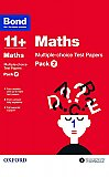 Bond 11+ Maths Multi Test Papers Pack 2