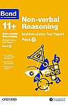Bond 11+ Non-verbal Reasoning Multi Test Papers Pack 2