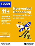 Bond 11+ Non-verbal Reasoning Up To Speed Practice 8-9 Years