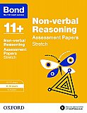 Bond 11+ Non-verbal Reasoning Stretch Practice 9-10 Years