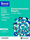 Bond Comprehension Papers 11+-12+ Years