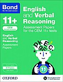 Bond 11+ Cem English & Verbal Reasoning Assessment Papers: 9-10 Years