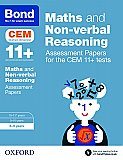 Bond 11+ Cem Maths & Non-verbal Reasoning Assessment Papers: 8-9 Years