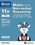 Bond 11+: Maths and Non-Verbal Reasoning: Assessment Papers for the CEM 11+ Tests : 9-10 Years