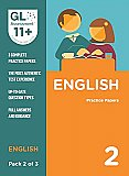GL Assessment 11+ Practice Papers English Pack 2 (Multiple Choice)