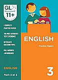GL Assessment 11+ Practice Papers English Pack 3 (Multiple Choice)