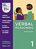 GL Assessment 11+ Practice Papers Verbal Reasoning Pack 1 (Multiple Choice)