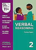 GL Assessment 11+ Practice Papers Verbal Reasoning Pack 2 (Multiple Choice)