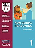 GL Assessment 11+ Practice Papers Non-Verbal Reasoning Pack 1 (Multiple Choice)