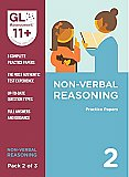 GL Assessment 11+ Practice Papers Non-Verbal Reasoning Pack 2 (Multiple Choice)