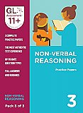 GL Assessment 11+ Practice Papers Non-Verbal Reasoning Pack 3 (Multiple Choice)
