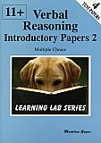 PHI - Learning Lab Series 11+ Introductory Practice Papers: Verbal Reasoning Multiple Choice: Book 2