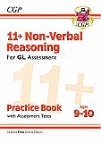 CGP - New 11+ GL Non-Verbal Reasoning Practice Book & Assessment Tests - Ages 9-10 (with Online Edition)
