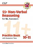 CGP - New 11+ GL Non-Verbal Reasoning Practice Book & Assessment Tests - Ages 10-11 (with Online Edition)