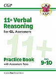 CGP - New 11+ GL Verbal Reasoning Practice Book & Assessment Tests - Ages 9-10 (with Online Edition)