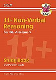 CGP - New 11+ GL Non-Verbal Reasoning Study Book (with Parents' Guide & Online Edition)