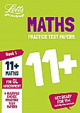 Letts 11+ Success - 11+ Maths Practice Test Papers - Multiple-Choice: for the GL Assessment Tests