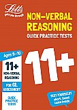 Letts - 11+ Non-Verbal Reasoning Quick Practice Tests Age 9-10 For The Gl Assessment Tests