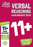 Letts - 11+ Verbal Reasoning Quick Practice Tests Age 10-11 For The Gl Assessment Tests