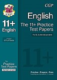CGP 11+ English Practice Papers: Standard Answers (for GL & Other Test Providers)