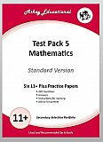 Athey Educational - 11 plus Test Pack 5 Mathematics Practice Papers Portfolio, Standard