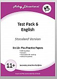 Athey Educational - 11 plus Test Pack 6 English Practice Papers Portfolio, Standard