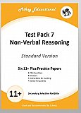 Athey Educational - 11 plus Test Pack 7 More Non-Verbal Reasoning Practice Papers Portfolio, Standard