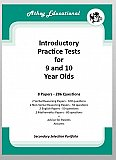 Athey Educational - Secondary Selection Practice Tests for Nine and Ten-Year-Olds