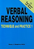 11 plus Verbal Reasoning Technique And Practice 1 by Susan Daughtrey