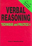 11 plus Verbal Reasoning Technique And Practice 4 by Susan Daughtrey