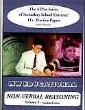 MW Educational 11 plus Non-Verbal Reasoning Practice Papers A plus Series Vol 1, Standard