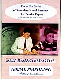 MW Educational 11 plus Verbal Reasoning Practice Papers A plus Series Vol 2, Standard