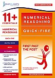 11+ Essentials - Numerical Reasoning: Quick-fire Book 2 Multiple Choice (First Past the Post)