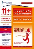 11+ Essentials - Numerical Reasoning: Multipart Book 2 Multiple Choice (First Past the Post)